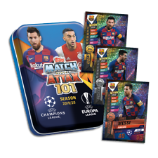 2019-20 TOPPS MATCH ATTAX 101 MINI TIN 45 CARDS LIMITED MESSI GOLD CARD