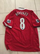 Wayne Rooney Manchester United Xl Shirt Large Nike Jersey