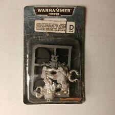 Warhammer Chaos Marine blister Assault weapon metal OOP games workshop