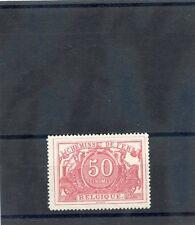 BELGIUM Sc Q11a(MI EB11a)**VF NH 1882 50c ROSE $325