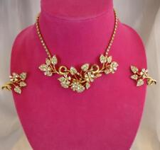 Vintage HATTIE CARNEGIE 1960s En Tremblant Trembler Necklace & Earrings Parure
