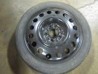 10-17 CHEVROLET EQUINOX Compact Spare Emergency Wheel Tire17x4-1/2