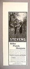 Stevens Arms & Tool Co. PRINT AD - 1903 ~ rifles, pistols, shotguns
