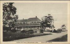 Greenville ME Indian Hill Farm c1920 Postcard #2
