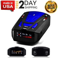 New listing Best Laser & Radar Detector Cop Cars Police Scanner Real Kit 360 Degree