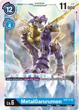 Digimon Card Game MetalGarurumon ST2-11 Super Rare