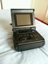 Sony GV-S50E 8mm Video8 Hi8 VideoWalkman PAL 8mm VIDEO RECORDER/MONITOR UNTESTED