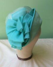 50s Vintage Hat. Mint Straw. Mitzi Lorenz. 50's does 20's. Flapper.