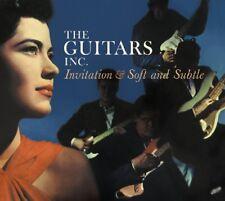 GUITARS INC. - INVITATION/SOFT & SUBTLE   CD NEW+