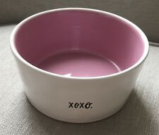 "New RAE DUNN Artisan Collection by Magenta 6"" Dog Pet Food Water dish"