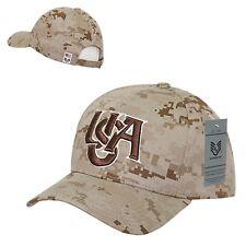 Desert Camo American Flag USA US United States America Olympics Baseball Cap Hat