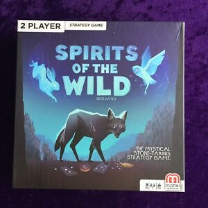 Spirits of the Wild Strategy Game , Mattel Games 2-player Card Board Game OOP