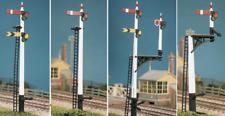 Ratio GWR POST SIGNALS X 4 Kit 466- Model Trains OO/HO SEE DESCRIPTION