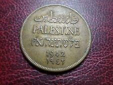 PALESTINE 2 MILS 1942