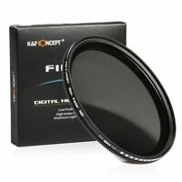 K&F Concept Slim 67mm Variable neutral density ND2 to ND400 for Canon Nikon DSLR