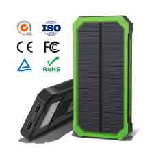 3days OFFER 18000mah Solar External Bank Battery Charger 2usb for Phone Tablet