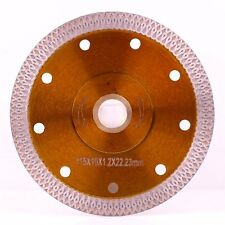 "4.5""D 115mm Super Thin Diamond Ceramic Saw Blade Porcelain Cutting Blade Tool"