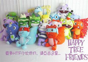 In Stock Happy Tree Friends Plush Flippy Flaky Stuffed Doll Toys Kids Xmas Gift