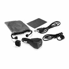 Ematic 6-in-1 Car Charger and Universal Accessory Kit for Mp3 Players & iPods