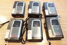 6 piezas > Sony TCM 84 V grabadora 10er mc. defectuoso algunos van aún parcialmente