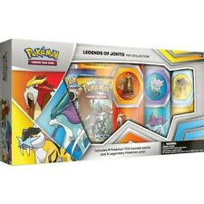 Pokemon Trading Card Game: Legends of Johto Pin Box - 9 PACKS
