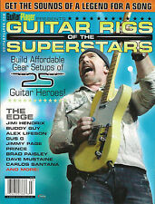 Guitar Player RIGS of the SUPERSTARS Sound Like EDGE Jimi Hendrix Steve Vai RUSH