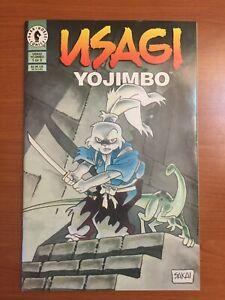 Usagi Yojimbo #1 (1996, Dark Horse) Never read Stan Sakai Comic Amazing NM