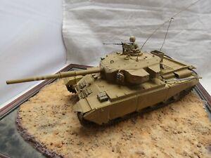 1/35 Built Israeli IDF Centurion SHOT KAL Tank