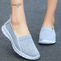 Women's Sports Sneakers Casual Shoes Lightweight Mesh Flats Breathable Walking