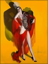 1940s Pin-Up Girl Carmen Rolf Armstrong Picture Poster Print Vintage Art Pin Up