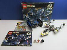 BOXED lego 7150 complete STAR WARS TIE  FIGHTER & Y WING VINTAGE set DARTH VADER