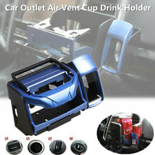 Car Outlet Air Vent Mounted Drink Holder Cup Bottle Can Clip Bracket Plastic Kit