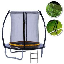 KANGA 6ft Outdoor Trampoline With Enclosure, Safety Net & Ladder Inc Warranty