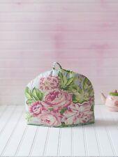 April Cornell Tea Cozy Reversible Love Letter Patchwork 100 Cotton Pink