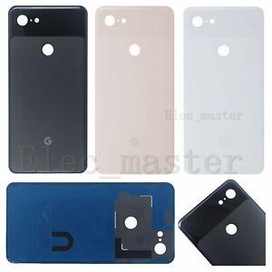 "For Google Pixel 3 XL G013C 6.3"" Genuine Housing Glass Rear Battery Back Cover"