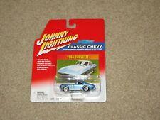 Johnny Lightning Classic Chevy 1965 Corvette Blue 1:64 Moc 2002