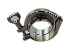 2'' TRI Clover Clamp + Tri Clamp Ferrule + Ptfe Gasket 304 Stainless Steel