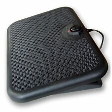 Portable Electric Heated Foot Rest Pad Radiant Space Heater Warmer Floor Heating