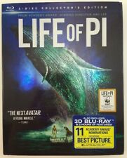 Life of Pi (Blu-ray/DVD, 2013, 3-Disc Set, Includes Digital Copy; UltraViolet; 3