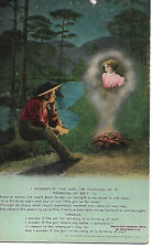"VINTAGE SONG CARD(3) (BAMFORTH 1909) ""I WONDER IF THE GIRL I'M THINKING OF IS.."""