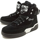Ewing Athletics 33 Hi Black White Suede Patrick Ewing Sneakers