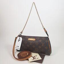 Auth Louis Vuitton Eva Clutch Monogram M95567 Clutch Guaranteed Genuine LC159