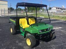 2009 john deere gator UTILITY UTV  2 PASSENGER SEAT gas golf cart green