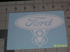 "Ford V8 5"" Vinyl Decal sticker laptop windows wall car boat"