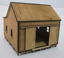 """HO Scale - Laser Cut """"The Sawtooth Shed"""" - SM1045"""