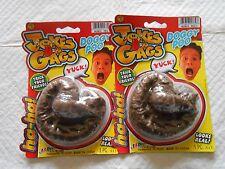 2 Eye Catching Fake POOP CRAP TURDS Jokes & Gags Prank Gag Prop New Dog People