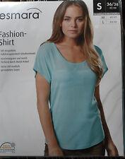 Elegantes Damen Fashion Shirt * S 36/38 * Türkis * esmara * OVP