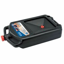 Draper Tools Portable Oil Drain Pan Tray Bowl Large Emptying Spout 8 L 22493