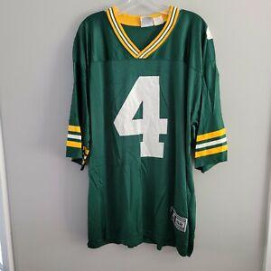 VTG 90s Starter NFL Green Bay Packers Brett Favre 4 Football Jersey Men 52 XL