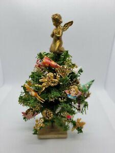 DOLLHOUSE MINIATURE VINTAGE CHRISTMAS TREE